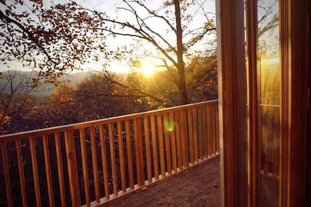 Belle Cabane dans les arbres-vue sur les Pyrénées - Saint-Victor-Rouzaud - Treehouse
