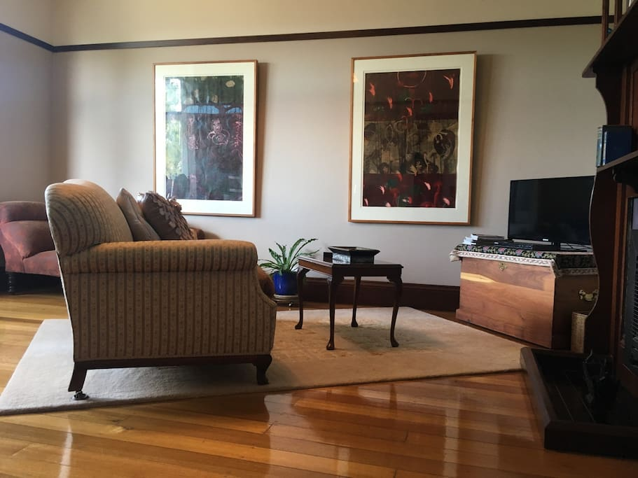 Relax in your private lounge with bespoke antiques and art.