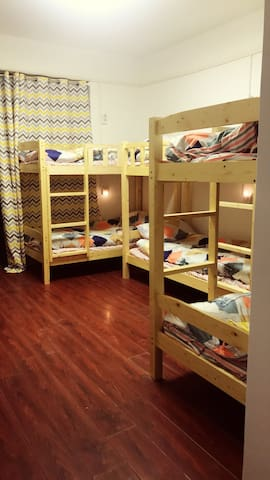 武汉大学 留白旅舍 男生八人间 温馨干净,家的感觉