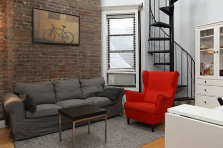 Cozy home near 7 subway lines w Rooftop View! - New York - Apartment