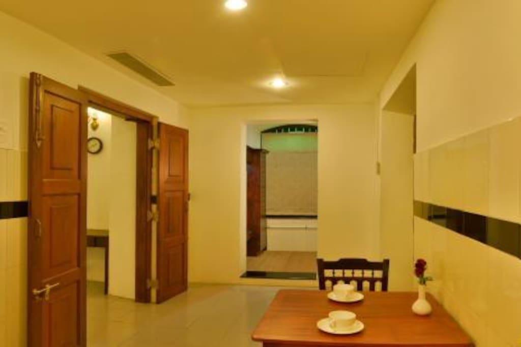 Small room Enterance