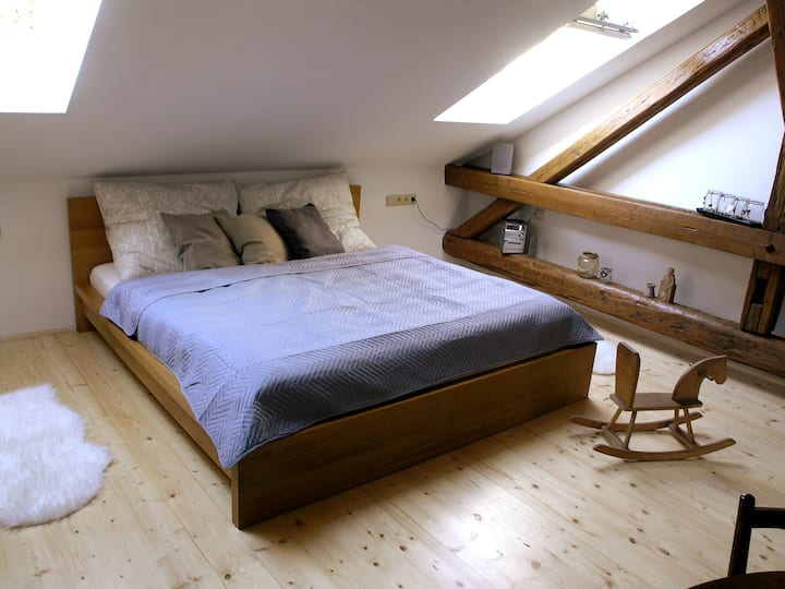 Loft Apartment - klimatizováno, zahrada, gril
