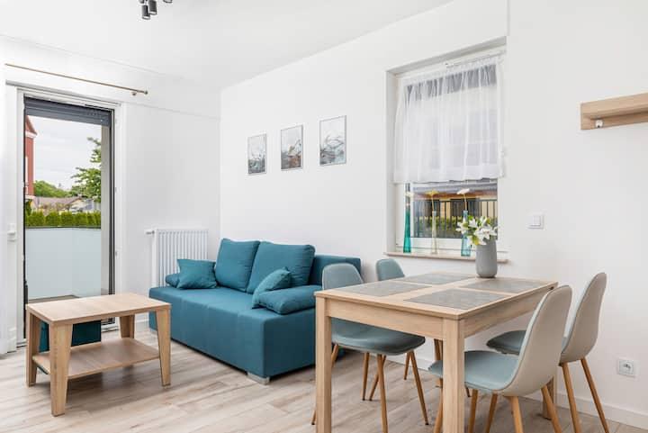 ☼ SunnyRewal ☼ Apartament - 2 sypialnie i taras ☼
