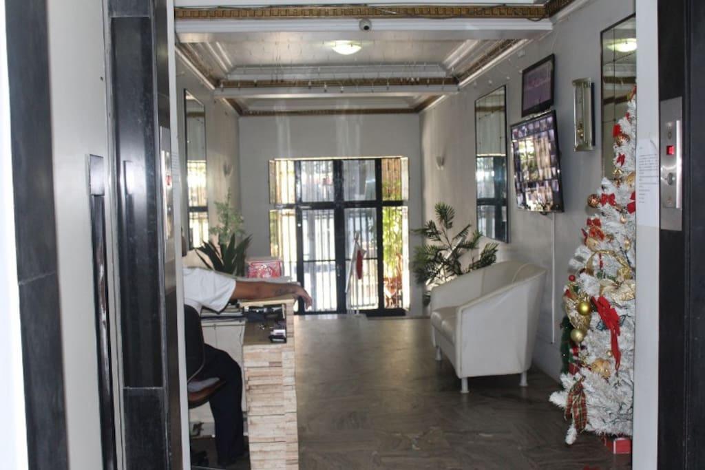 Hall d'entrée immeuble