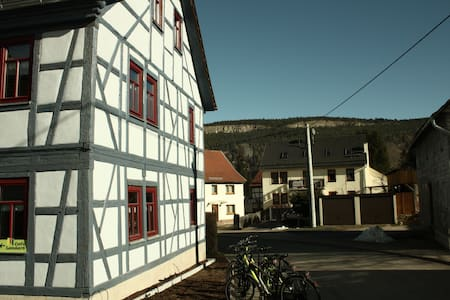Café Landart Ferienwohnung Quelle - Plaue - Apartemen