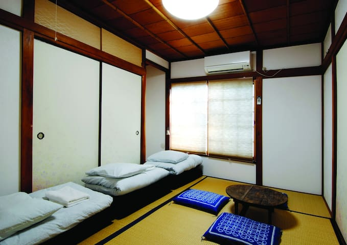 7min to Station, Japanese style room for 3 person