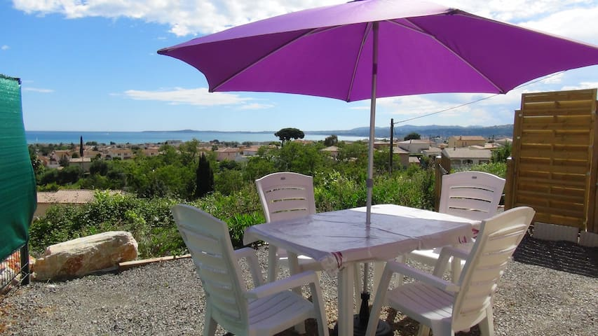 2 rooms,Parking, Sea view, Wifi (2) - St-Laurent-du-Var - Appartement