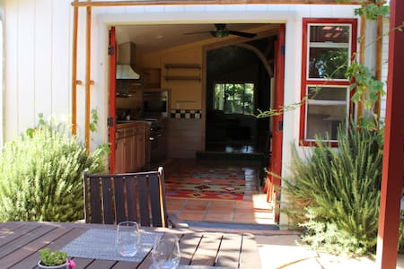 Chef's kitchen-private outdoor space-fruit trees - Ojai
