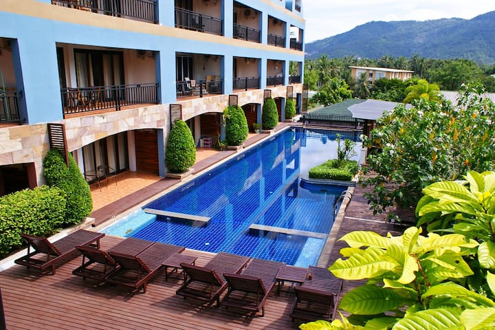 Apartment with kitchen on 1st floor - Koh Samui - Leilighet