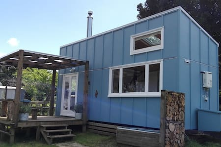 Tui Glen Tiny House - Waikino - Zomerhuis/Cottage
