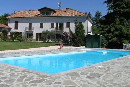 Ferienwohnung Asti, Cascina La Famó - San Marzano Oliveto - Leilighet