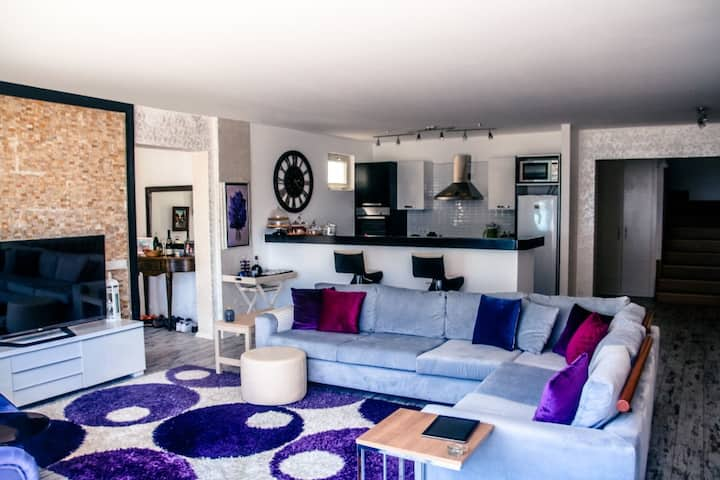 Luxury Duplex Villa w/Perfect Bay View @Gümbet