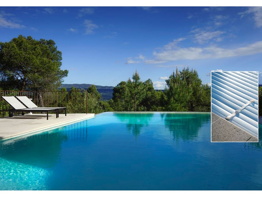 Vue panoramique sur le luberon houses for rent in for Piscine forest hill