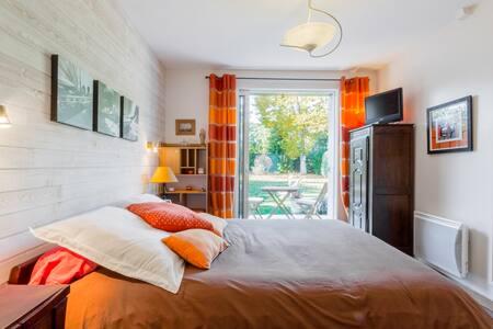 Une chambre donnant sur le jardin - Sarzeau - Haus