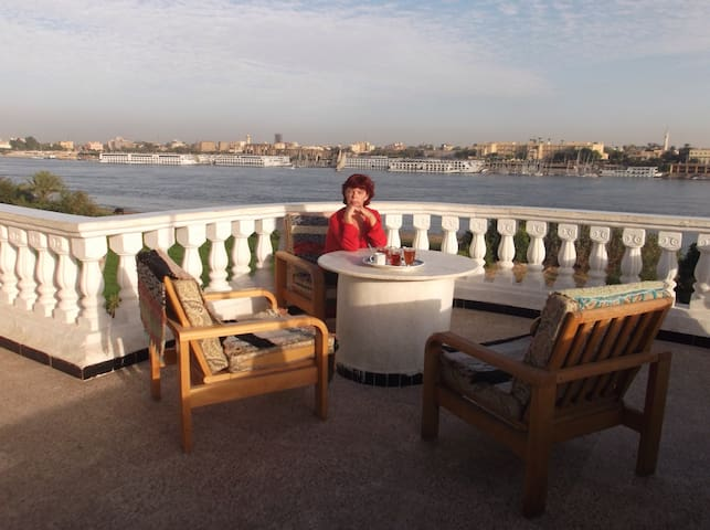 Jasmin Villa Nile view 40$/night - Luxor - Apartmen