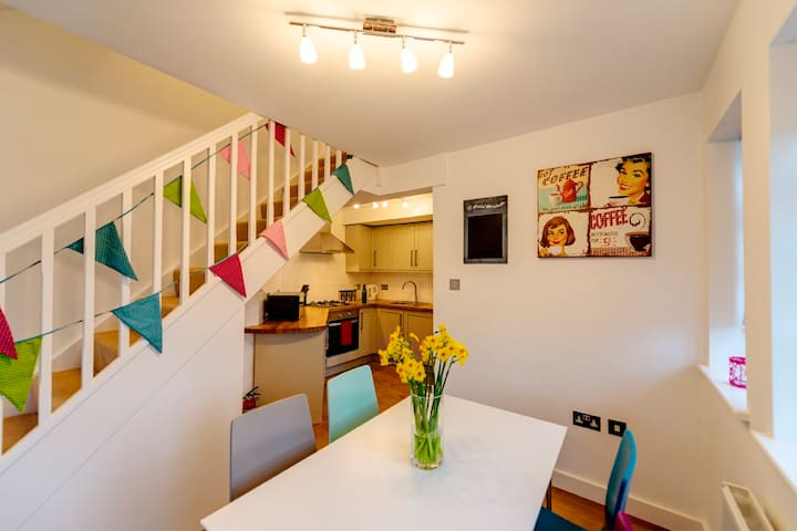 Stunning 2 bed Garden Flat & Parking in Rye - Rye - Appartement
