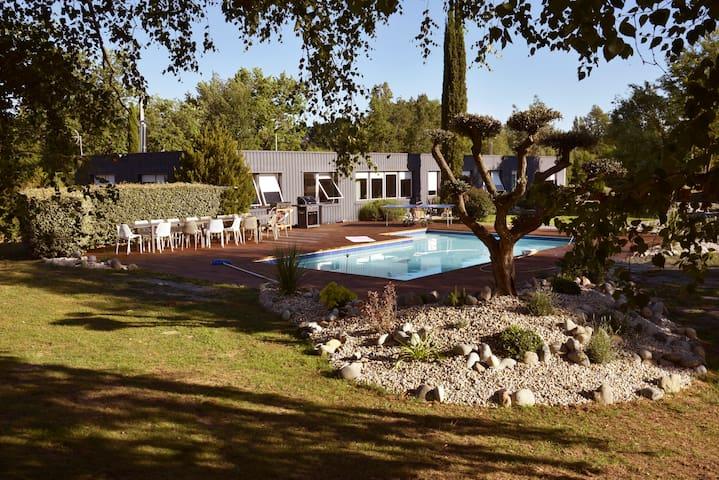 Villa Parenthèse - balnéo - 300 m2 - 13 pers.