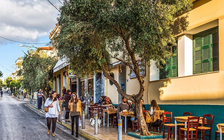 Guide for Petralona and Athens by  Petroula&Giannis