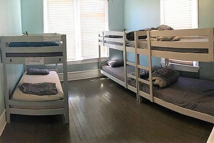 """Mixed Dorm """"Top Bunk #3"""" at Stella Maris Hostel"""