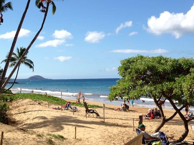 MAUI  KIHEI 1BR Condo-2 blks to 2 great beaches.
