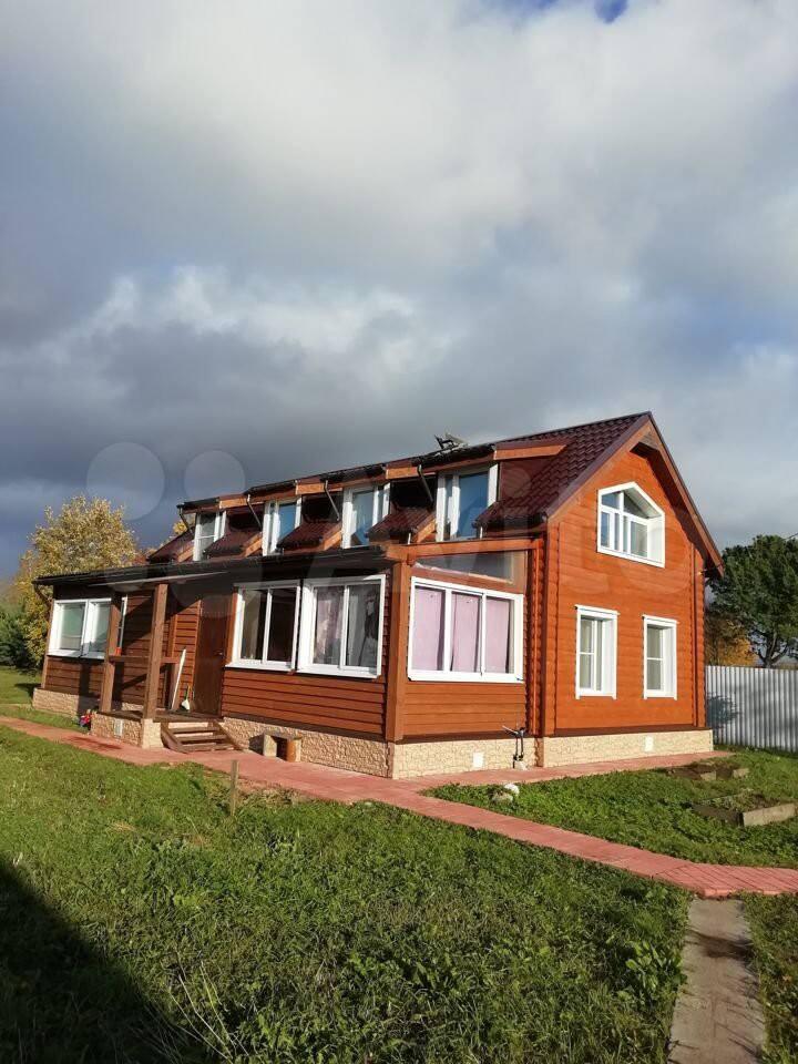 Загородный дом рядом с Великим Новгородом.