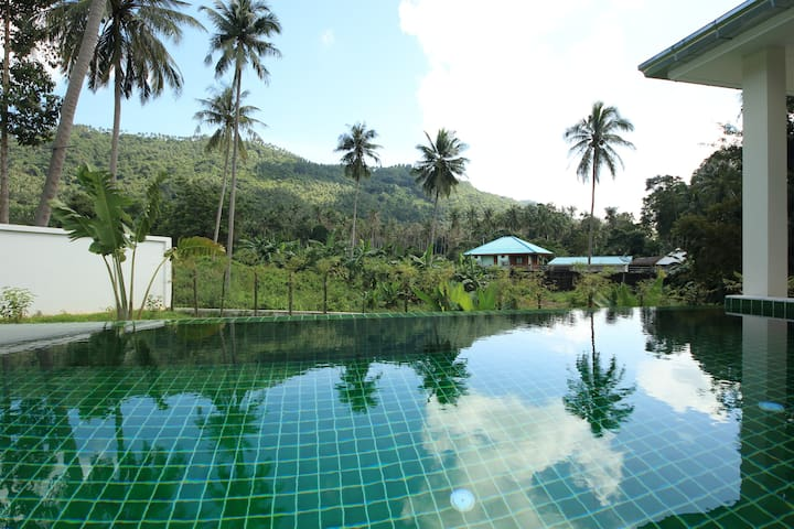 3BR Villa+PrivatePool-Jungle/Coconut View