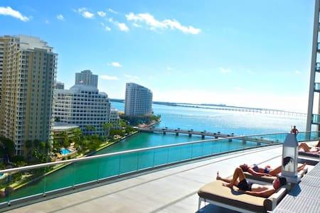 W MIAMI - Luxury Resort - Spacious 2B/2B. - Miami