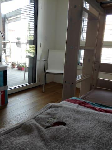 Chambre claire, vue sur Seine, écoquartier neuf !