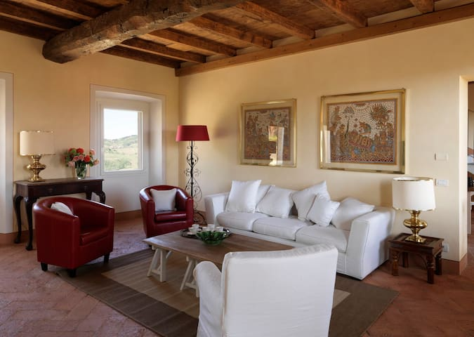 Tuscany peace 1h from Milan - Oliva Gessi - Appartement