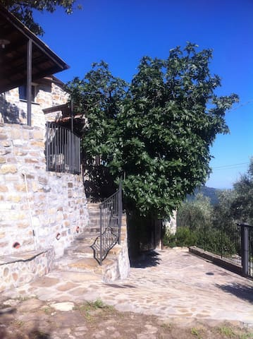 U figu du camin, 3 bedroom villa - Pontedassio - Apartment