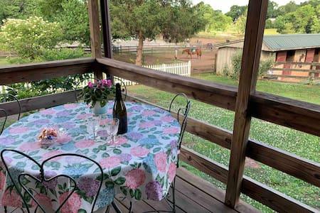 Country getaway on a horse farm, Bryn Taran Farm