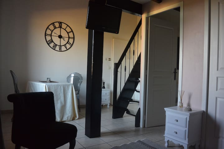 Cadre calme et dépaysant - Châteauneuf-sur-Isère - Bed & Breakfast