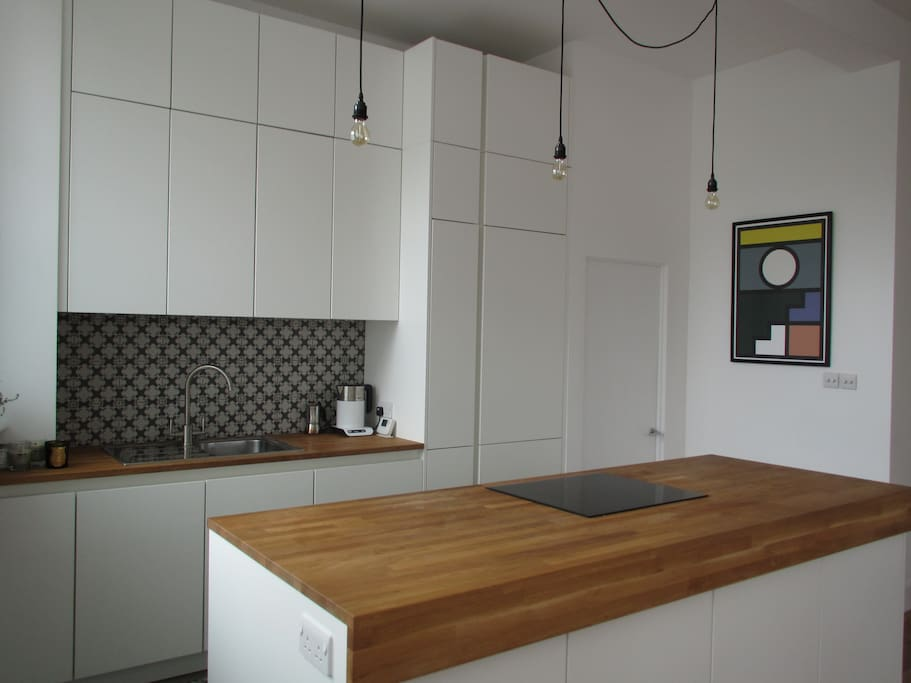 Our recently renovated kitchen.