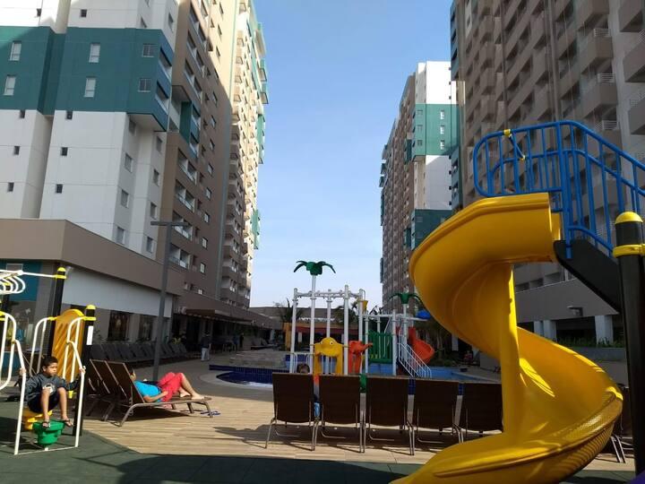 Quarto Olímpia Park Resort