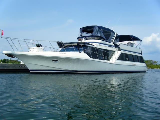 HELLO MATEY! Stay on a 60' yacht..breakfast incl. - Orillia - Barco