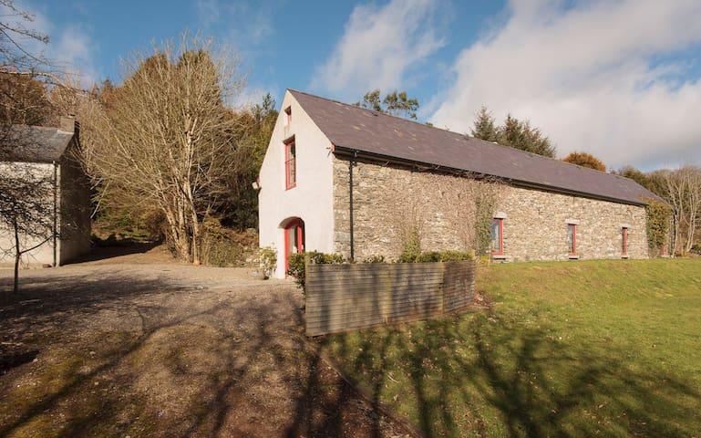 Monalea barn and farmhouse, - Ballyfad - Hus