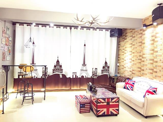 美式复古双卧套房(整套房的价格)可做饭 - 南宁 - Apartment