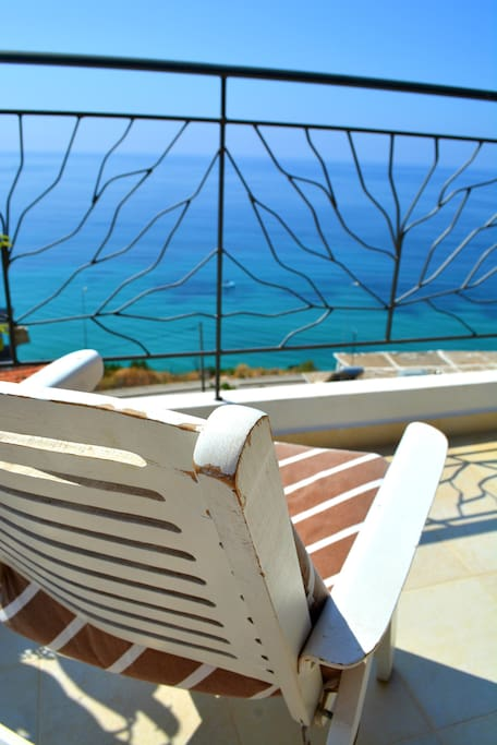 The sea view terrace