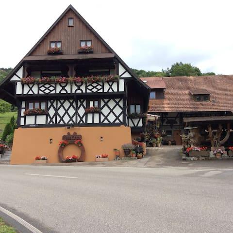 Gästehaus Maier Zimmer 1 an der Straubenhöfmühle