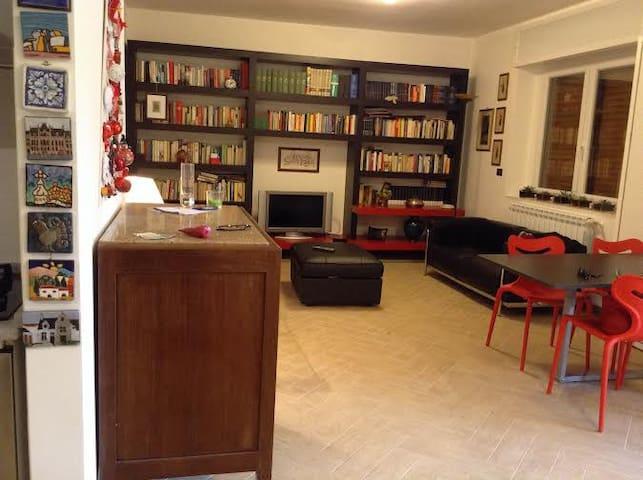 Accogliente openspace con giardino  - Caserta - アパート