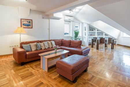 Penthouse in Subotica City Center 90m2, 3 bedrooms