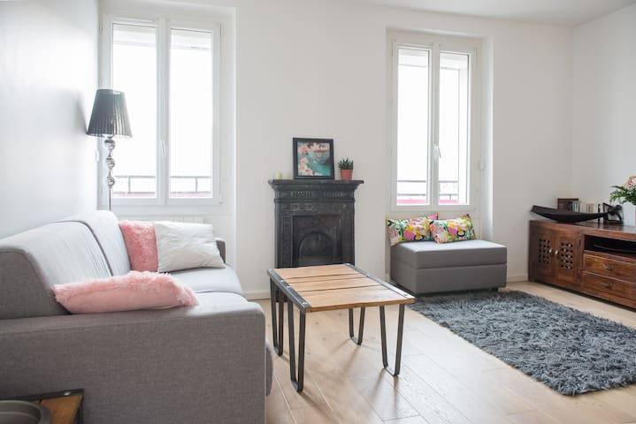 Cosy & Quiet - 2mn from Paris - Vincennes - Apartemen