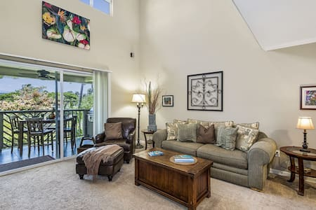 Kamaaina Welcome! Local Rates Posted. Waikoloa Beach Villa D23, Two bedroom villa with large loft