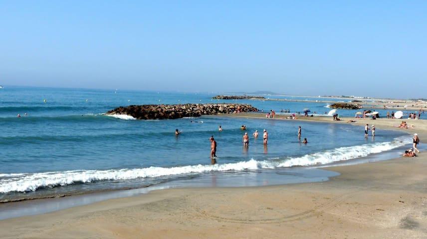 Joli T2 terrasse, plages à 200m - Sète - Apartment