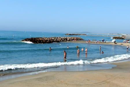 Joli T2 terrasse, plages à 200m - Sète - Apartemen