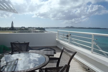 Superb penthouse appart see view. Discount oct2016 - Saint Martin