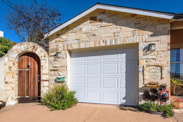 Beautiful new home with lots of Carmel Stone.