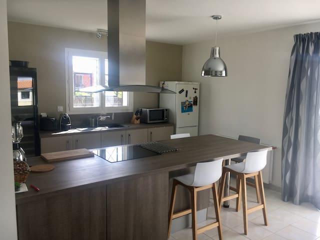 Maison Individuelle - Saint-Caprais-de-Bordeaux - Casa