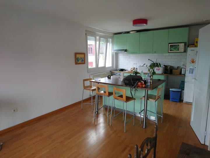 Chambre Auzeville, maison calme et spacieuse