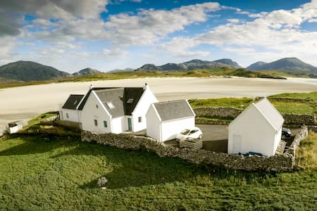 Beach Cottage BnB Apartment Lovely Views Hebrides